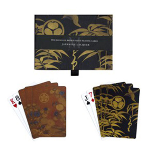 PLAYING CARD SET: JAPANESE LACQUER