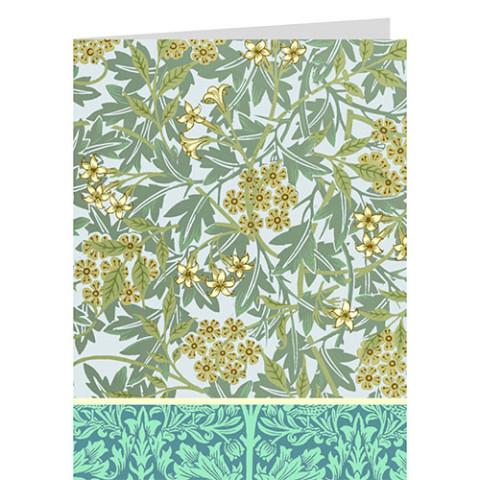 William Morris note card box