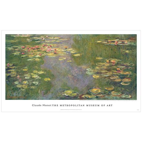 Monet: Water Lilies poster