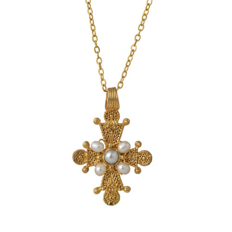 Late Byzantine Cross Pendant