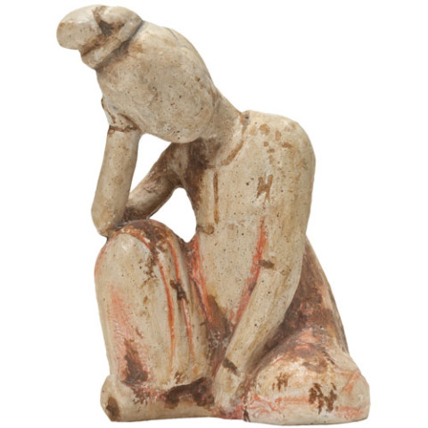 Resting Tang Dancer Sculpture
