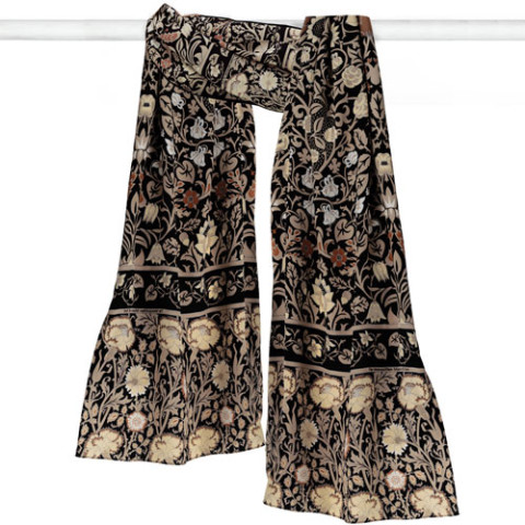 William Morris Florals Oblong Scarf