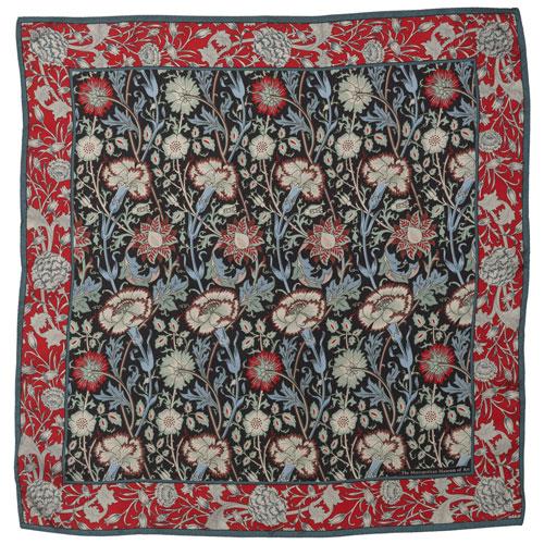 William Morris Pink and Rose Neckerchief