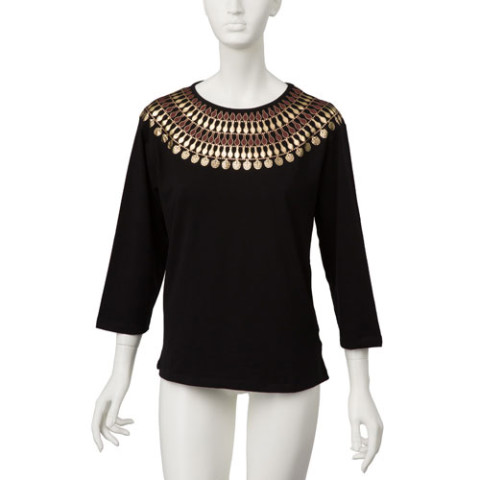 Egyptian Nefer Necklace Classic Fit Top/XL