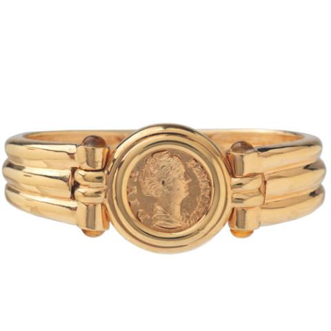 Roman Empress Coin Bracelet