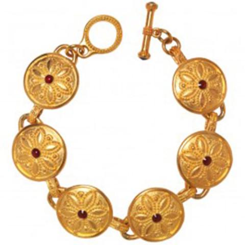 Javanese Lotus Bracelet