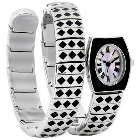 French Deco Harlequin Watch
