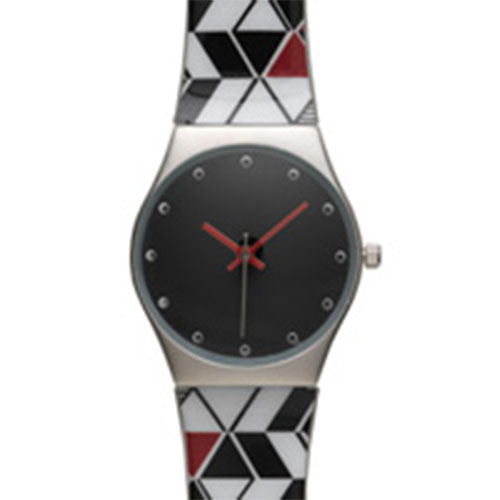 African Trompe l'Oeil Watch
