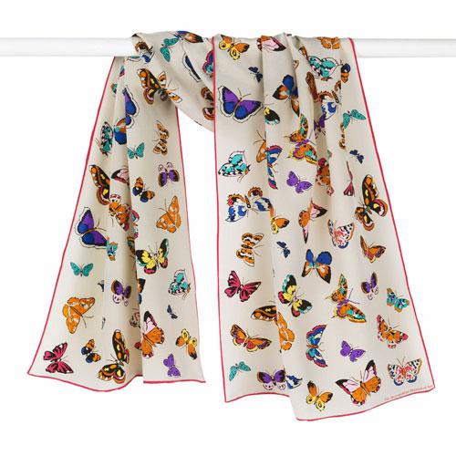 Schiaparelli Butterflies Oblong Scarf