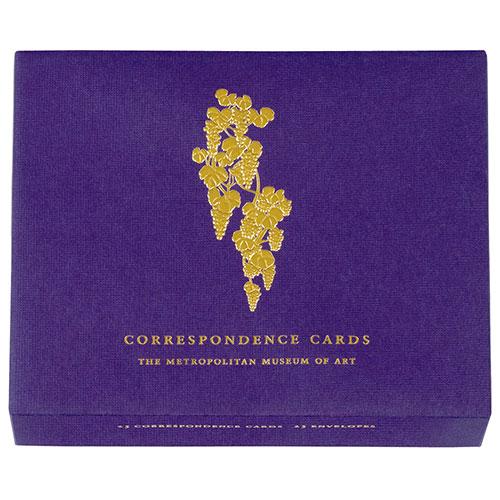 Louis Comfort Tiffany Grapevine correspondence cards