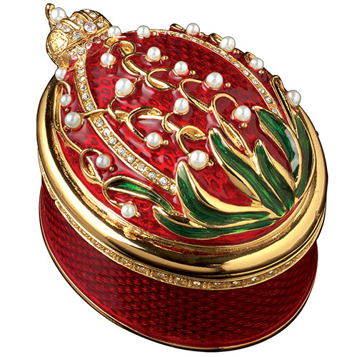 Russian Imperial Lilies of the Valley Box