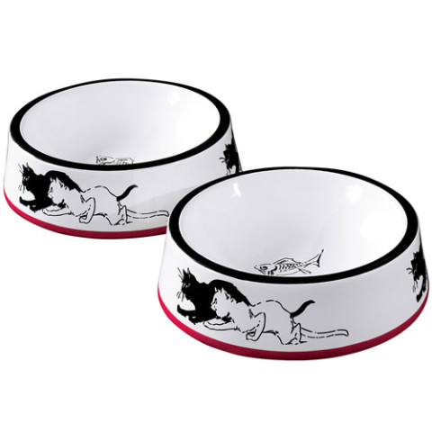 STEINLEN CATS PET FOOD BOWLS 2