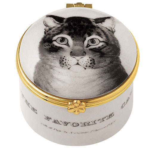FAVORITE CAT MINI PORCELAIN BO
