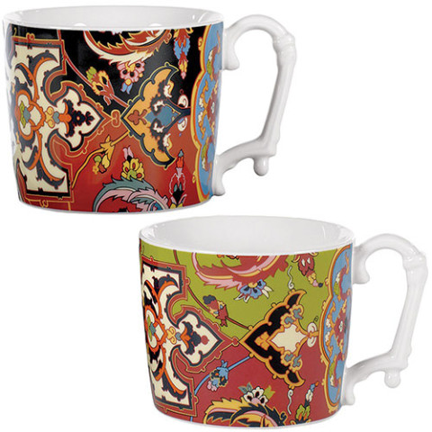 KHURASAN CARPET MUGS (SET OF 2