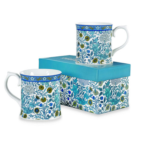 William Morris Cherwell Mugs (set of 2)