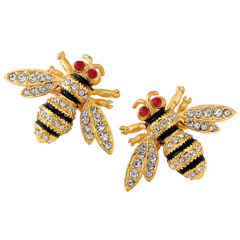 Russian Imperial Bee Earrings