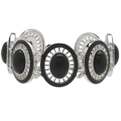 American Heiress Link Bracelet (black)