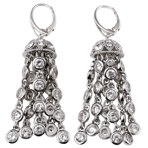 American Heiress Tassel Earrings