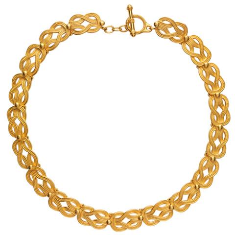 Herakles Knot Necklace