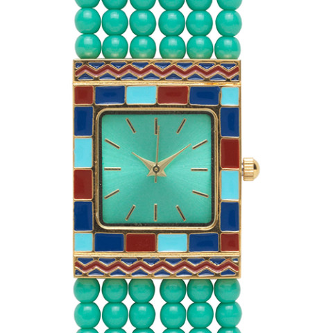 Egyptian Princess Beaded Watch