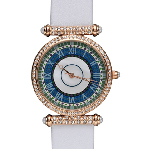 Jeweled Laurelton Hall Watch