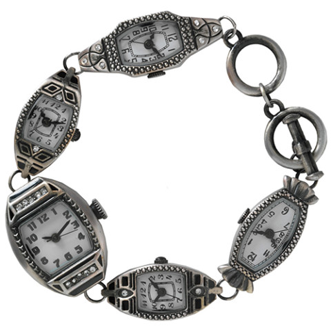 American Deco Bracelet Watch