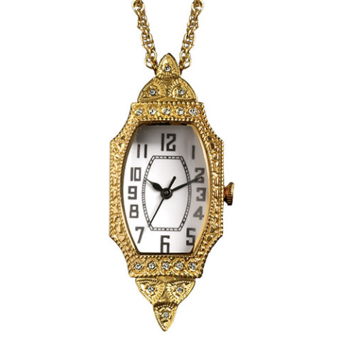 American Deco Pendant Watch