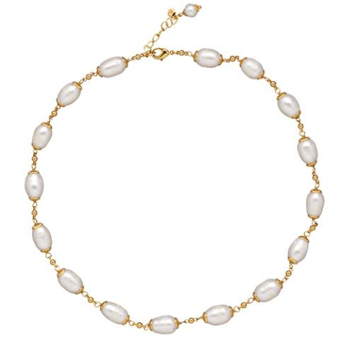 """Perle Française Necklace (18"""")"""