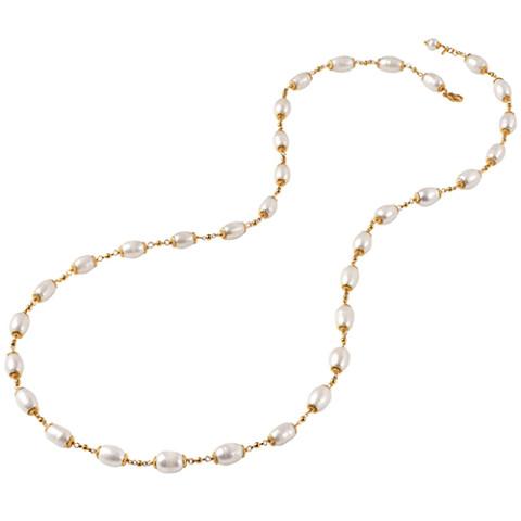 """Perle Française Necklace (36"""")"""