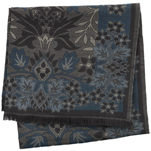 William Morris Flower Garden Throw