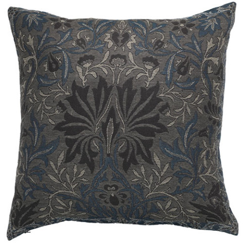 William Morris Flower Garden Pillow Cover