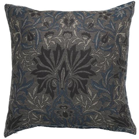 William Morris Flower Garden Pillow Cover