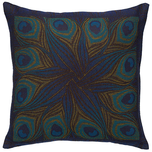 Louis Comfort Tiffany Peacock Feather Pillow Cover