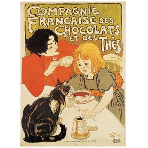 Théophile-Alexandre Steinlen: Poster Cat Panel