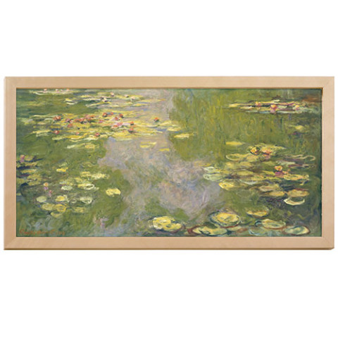 Monet Water Lilies plaque