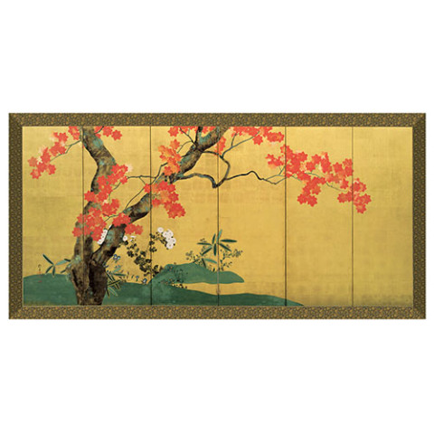 Edo Red Maple Panel
