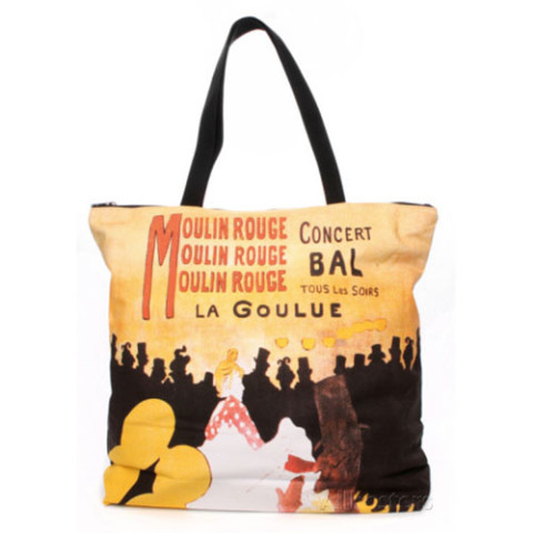 Toulouse-Lautrec Moulin Rouge Tote
