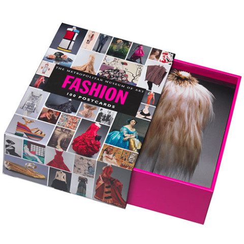 100 POSTCARDS BOX: FASHION