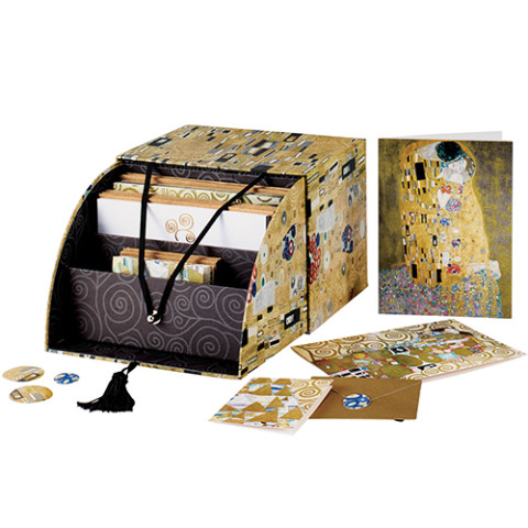 KLIMT DELUXE NOTECARD BOX