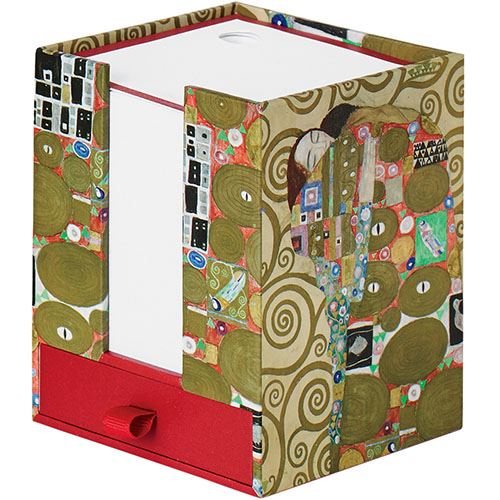 KLIMT NOTECUBE FULFILLMENT-RED