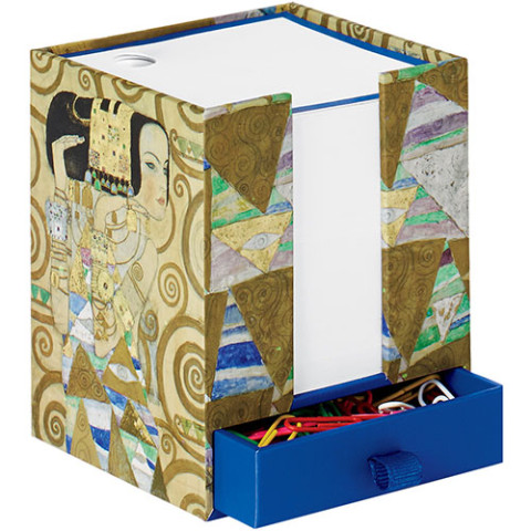 KLIMT NOTECUBE EXPECTATION-BLU