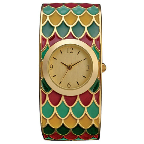 EGYPTIAN GODDESS BANGLE WATCH 0000