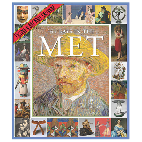 2015 365 DAYS IN THE MET CALEN
