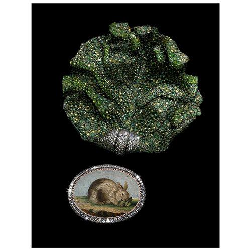 JAR: Lettuce Leaf Brooch