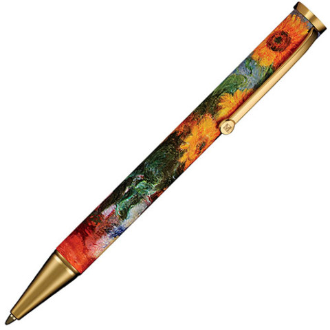 MONET SUNFLOWERS ACCESSORY PEN