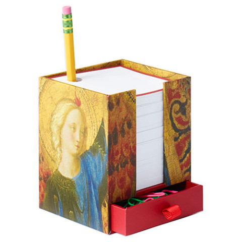 ANGELS NOTECUBE RED - HEAD OF