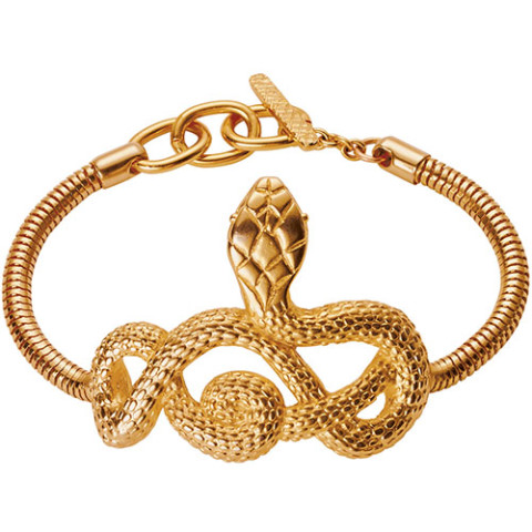 EGYPTIIAN ENTWINED SNAKE BRAC