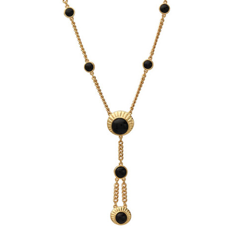 GILDED AGE JEWELED PND NECKLAC 0000