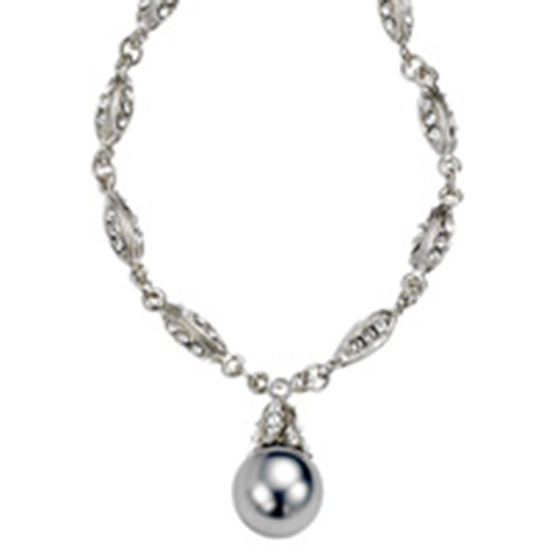 Parisian Black Pearl Necklace
