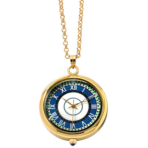 Laurelton Hall Mosaic Pendant Watch